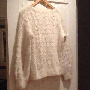 no tags Sweaters - Angora cream sweater.